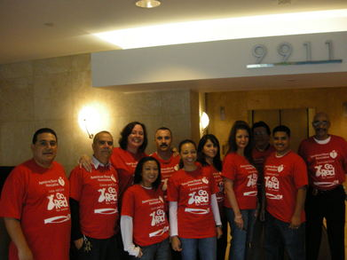 Go Red Team T-Shirt Photo