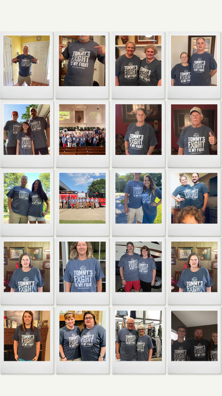 Tommy's Fight Is Our Fight! T-Shirt Photo