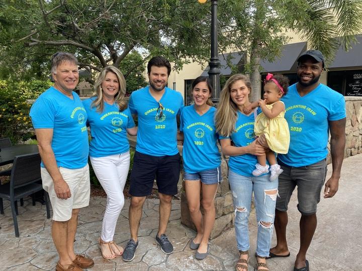 Quarantine Crew T-Shirt Photo