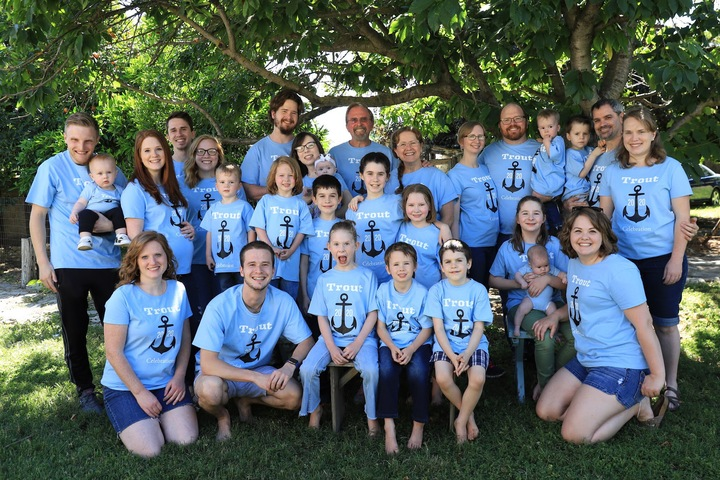 Trout Family Get Together T-Shirt Photo