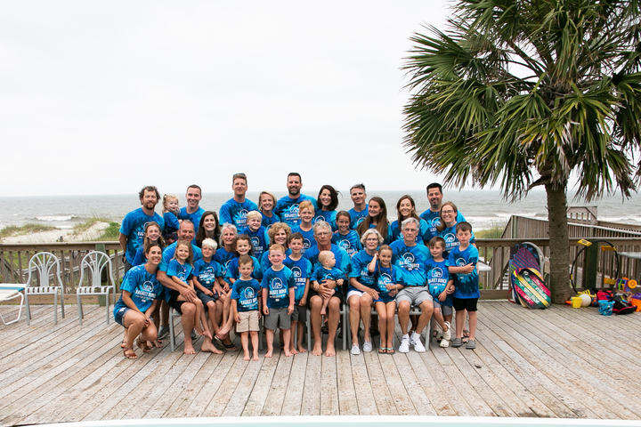 Bagaley Bunch Family Vacation T-Shirt Photo