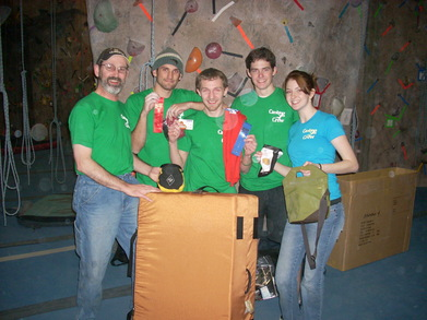 Winning Our First Team Climbing Competition T-Shirt Photo