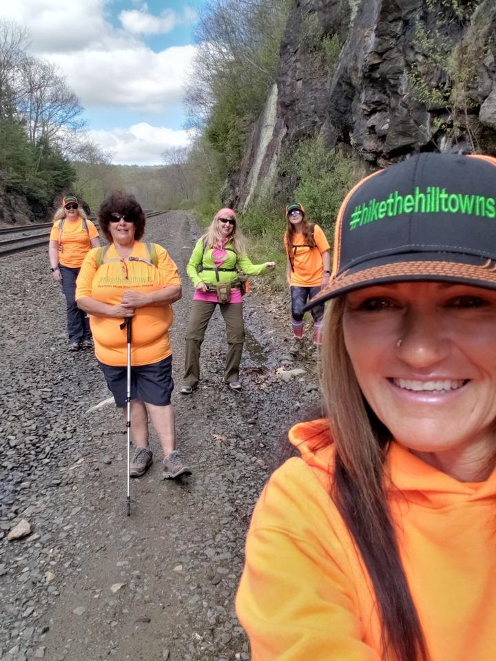 Western Mass Hilltown Hikers  T-Shirt Photo