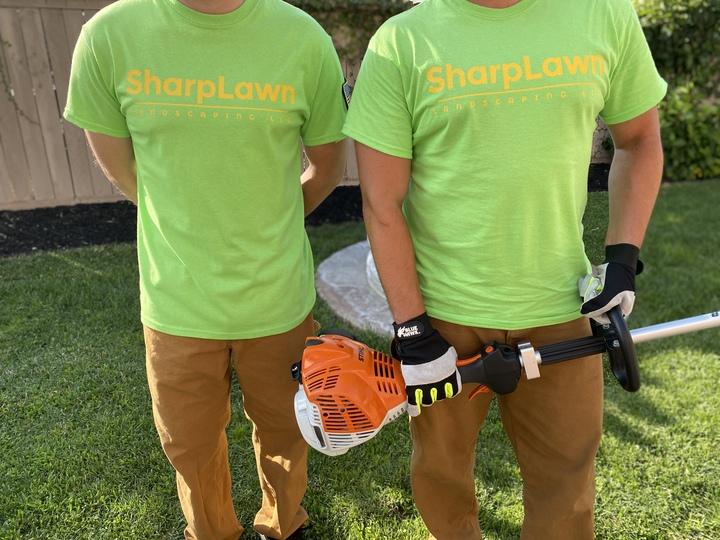 Sharp Lawn!  T-Shirt Photo