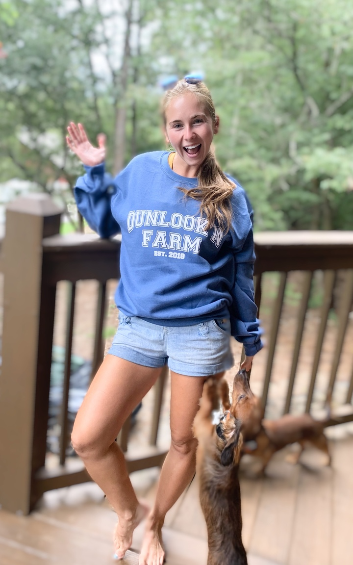 One Of My Horsey Girls Modeling Our New Fall Swag!  T-Shirt Photo
