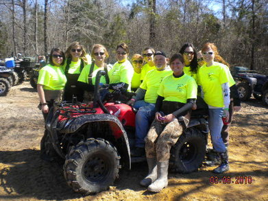 Stinky Hole Mudder Ladies T-Shirt Photo
