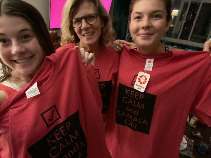 Keeping' Calm With My Girls T-Shirt Photo
