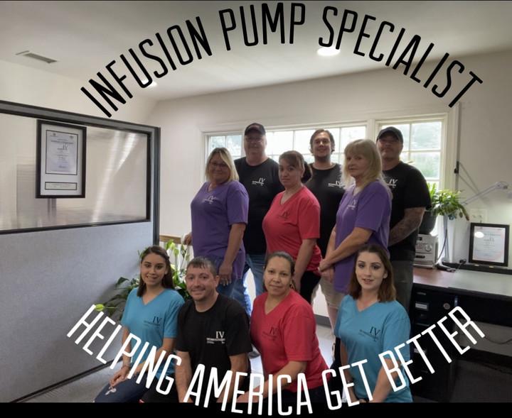 I V Pump Parts And Repair Specialists T-Shirt Photo