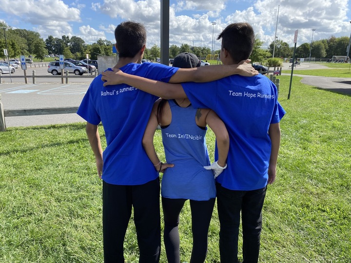 We Are Team Arman! Running For Hope!  Running To Squash The Digital Divide To Give Kids A Better Path In Life! T-Shirt Photo
