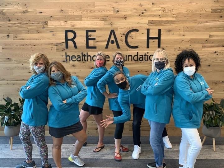 Reach Healthcare Foundation Staff T-Shirt Photo