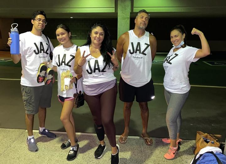 Jaz Fitness  T-Shirt Photo