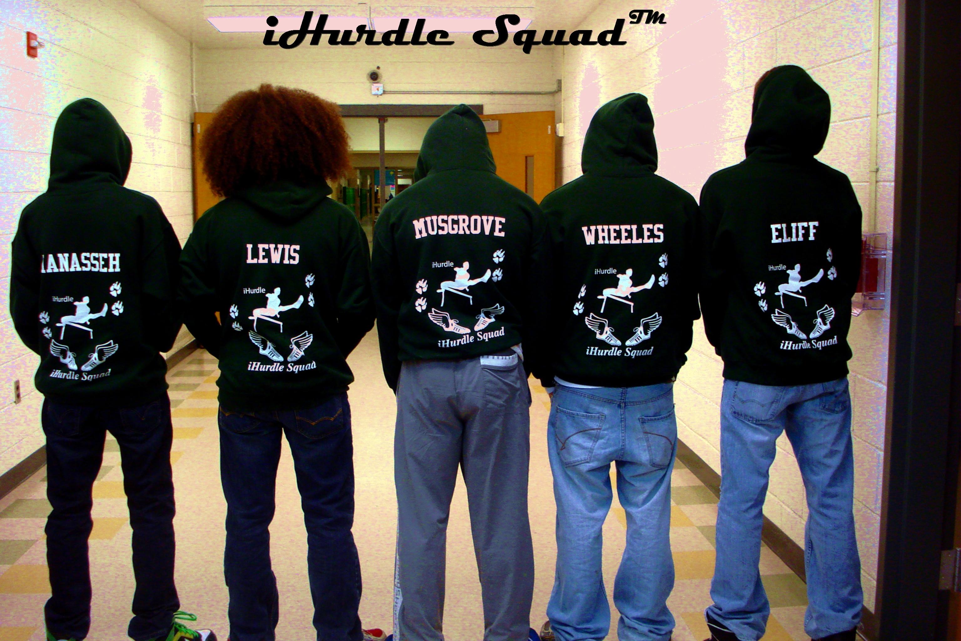 Custom T Shirts For Hurdle Squad Shirt Design Ideas