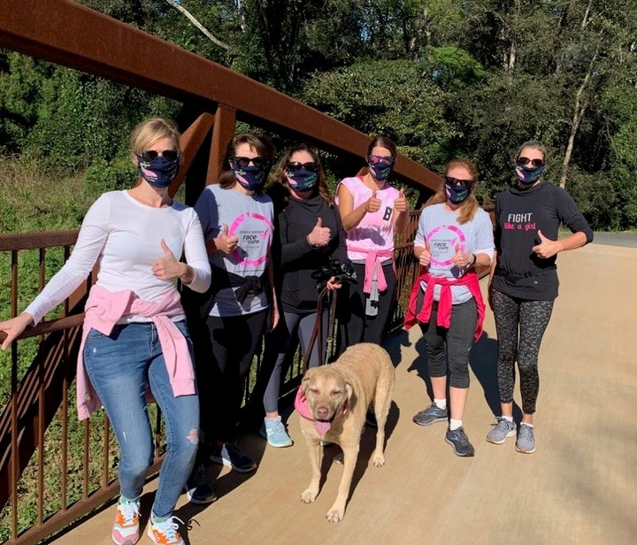 Masked For Komen Race For The Cure T-Shirt Photo