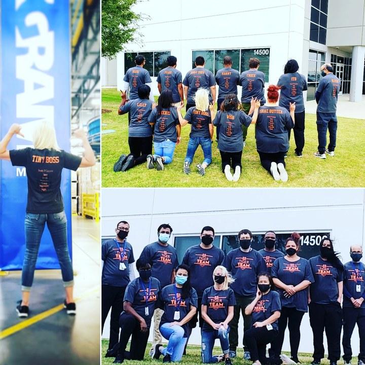 Ingram Micro Tiger Team T-Shirt Photo
