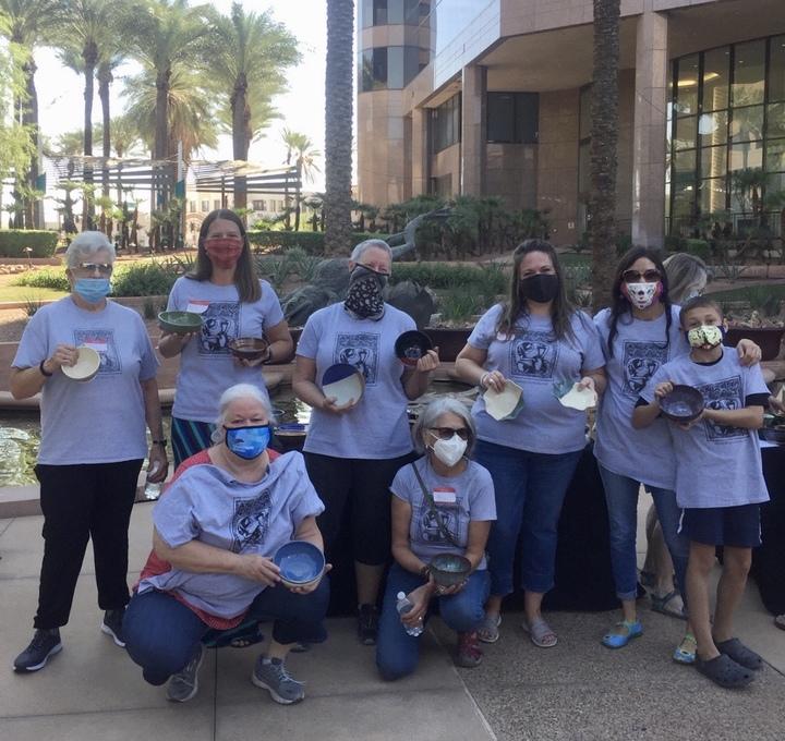 Arizona Clay Volunteers For Empty Bowls 2020 T-Shirt Photo