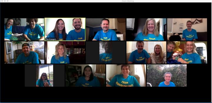 Team Bananapants Assemble!!!! T-Shirt Photo