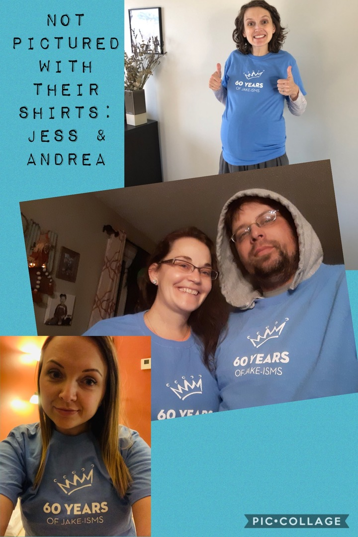 Socially Distanced Birthday Fun T-Shirt Photo