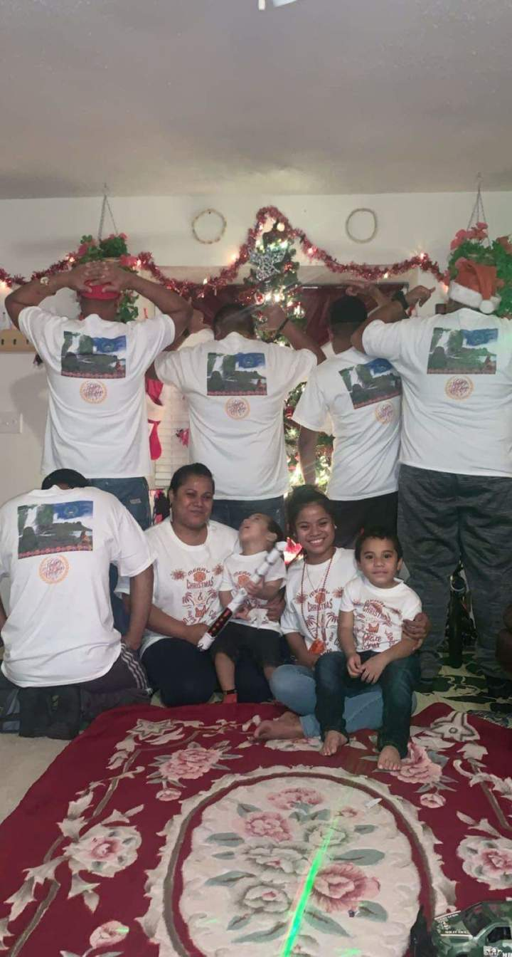 Family Christmas And New Year Uniform T-Shirt Photo