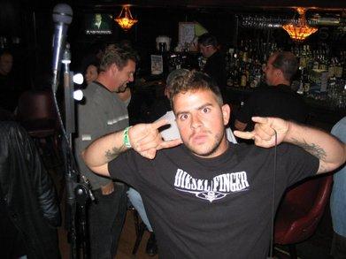 Diesel Finger Show Sf T-Shirt Photo