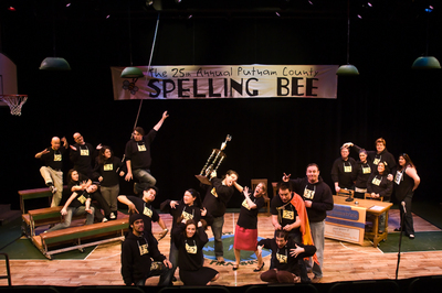 Our Whacky Spelling Bee Cast And Crew T-Shirt Photo