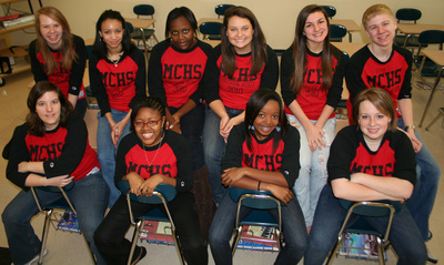 Mallard Creek Yearbook Staff 2010 T-Shirt Photo