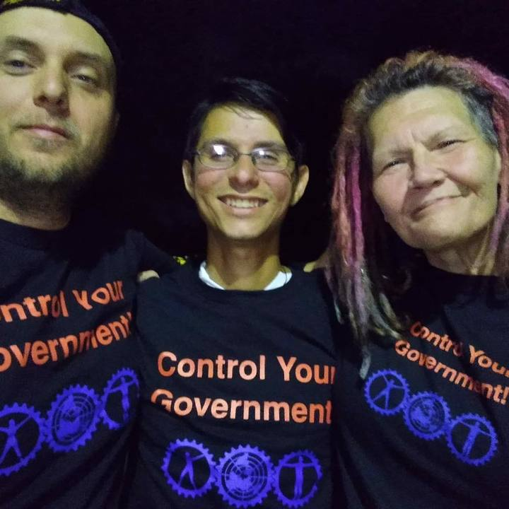 Control Your Government! T-Shirt Photo