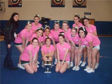 Grafton High School Cheerleading T-Shirt Photo