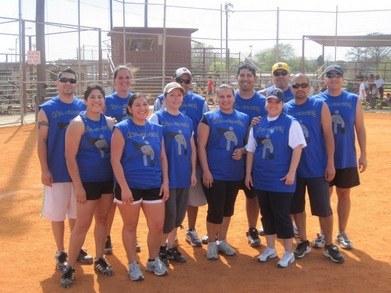 Ball Kickers (Adult Kickball League) T-Shirt Photo