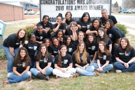 VHS Yearbook Staff 2010