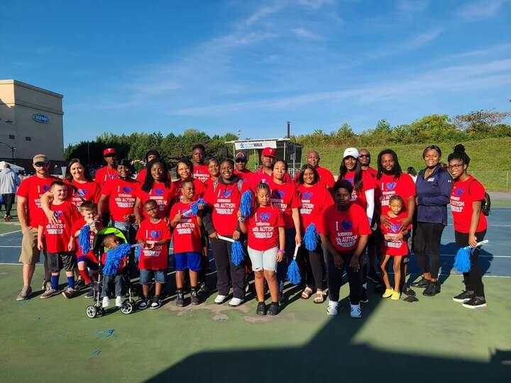 Team Rj 2021 Autism Speaks Walk T-Shirt Photo