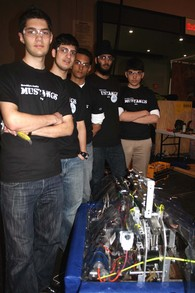 Robot Team T-Shirt Photo