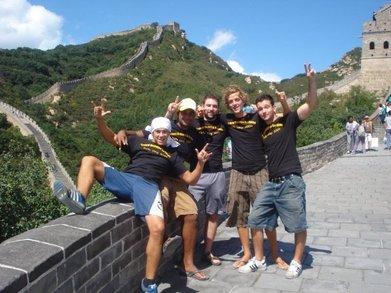 The Travel Buddies Do China T-Shirt Photo