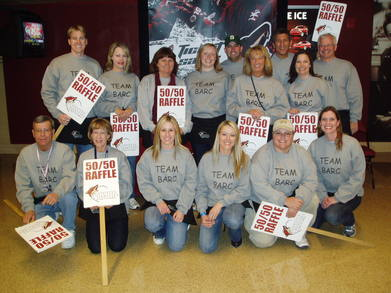 50/50 Raffle   Go Team Barc! T-Shirt Photo