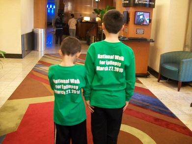 National Walk For Epilepsy T-Shirt Photo