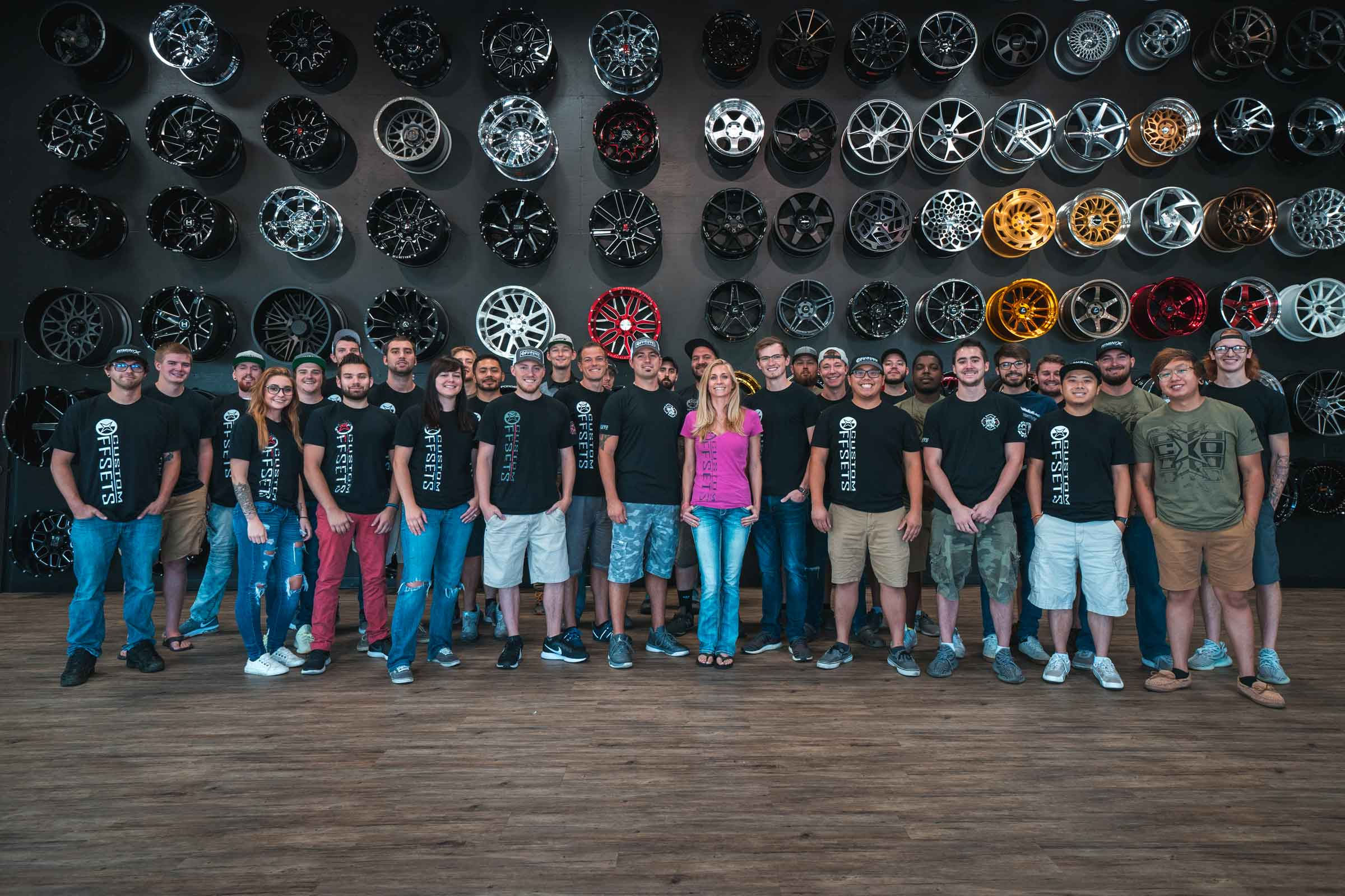 Custom Offsets Team Photo