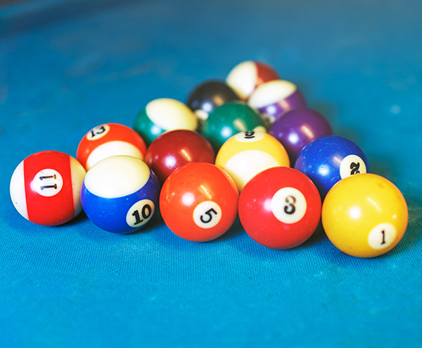 Pooltableballs