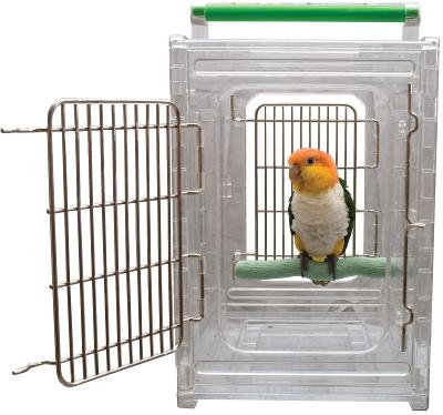 Como transportar uma ave?