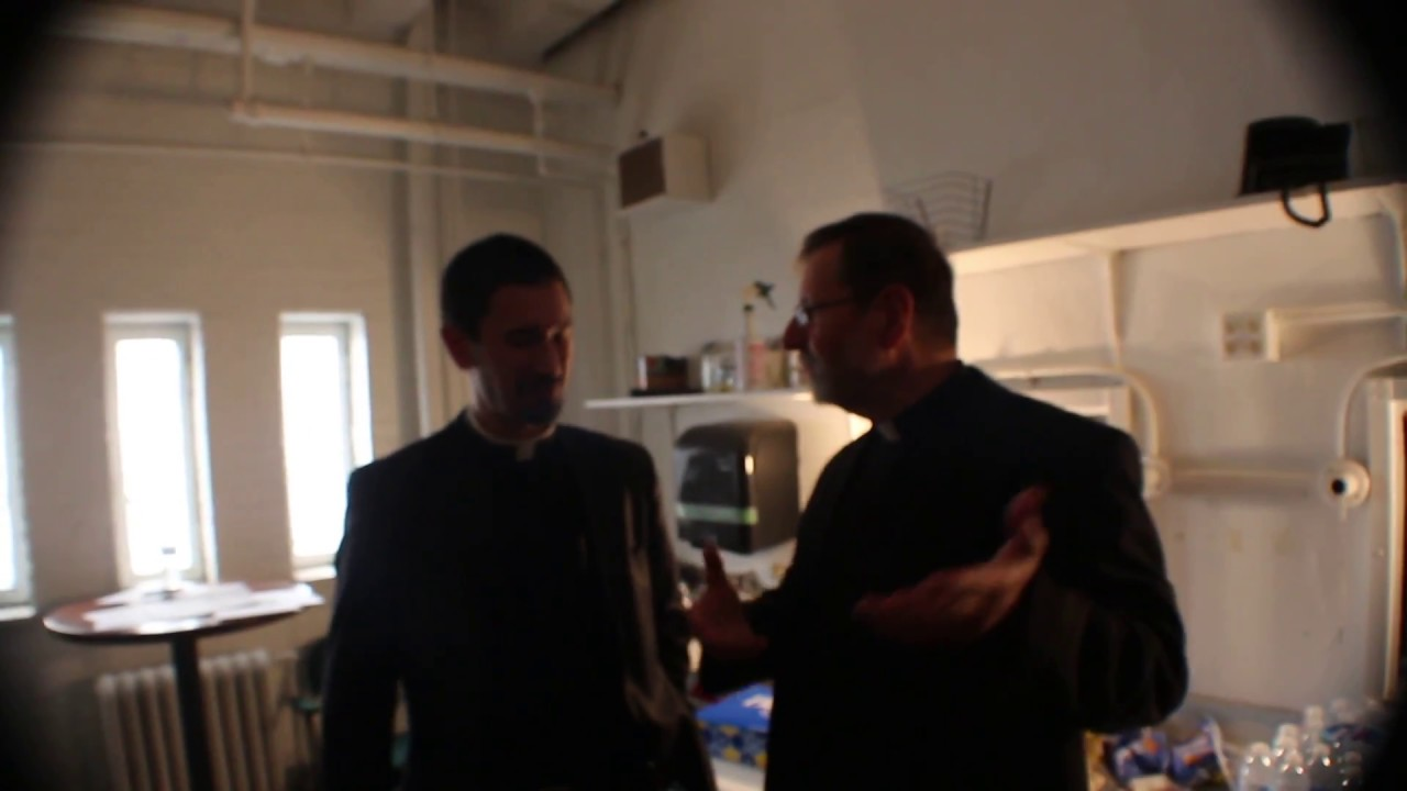 Behind The Scenes with Father Mitch Pacwa and Fr. Ryan Ruiz, Cincinnati Men's Conference 2018