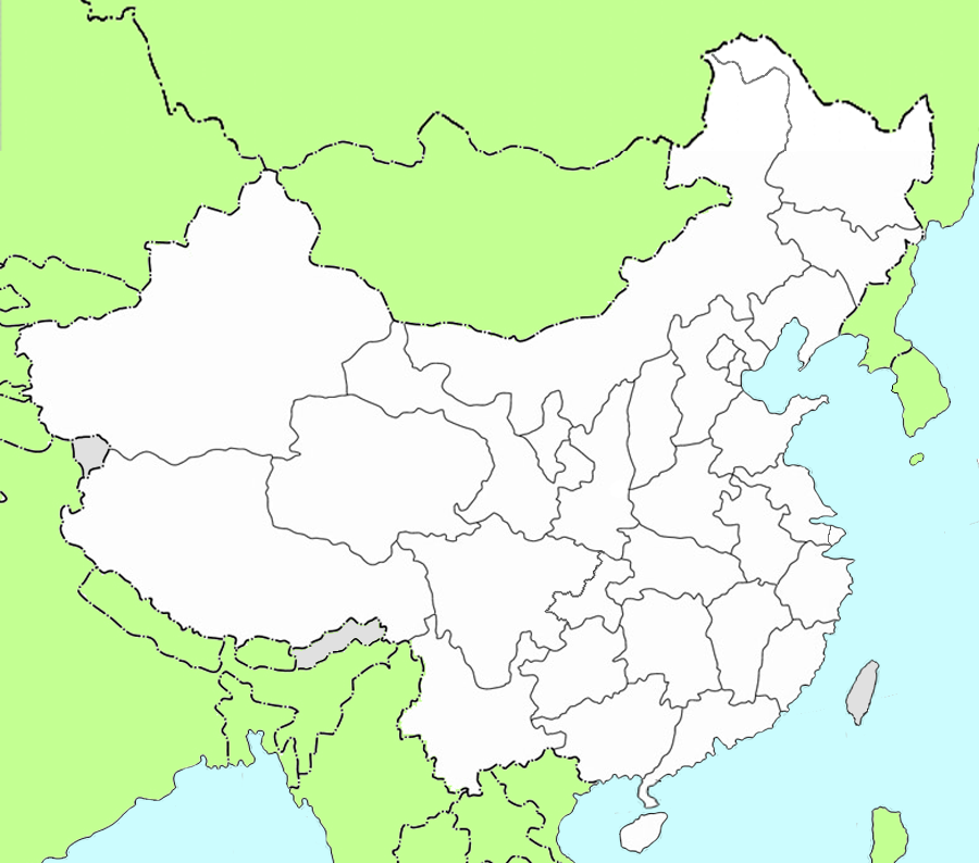 China\'s Geography: Maps