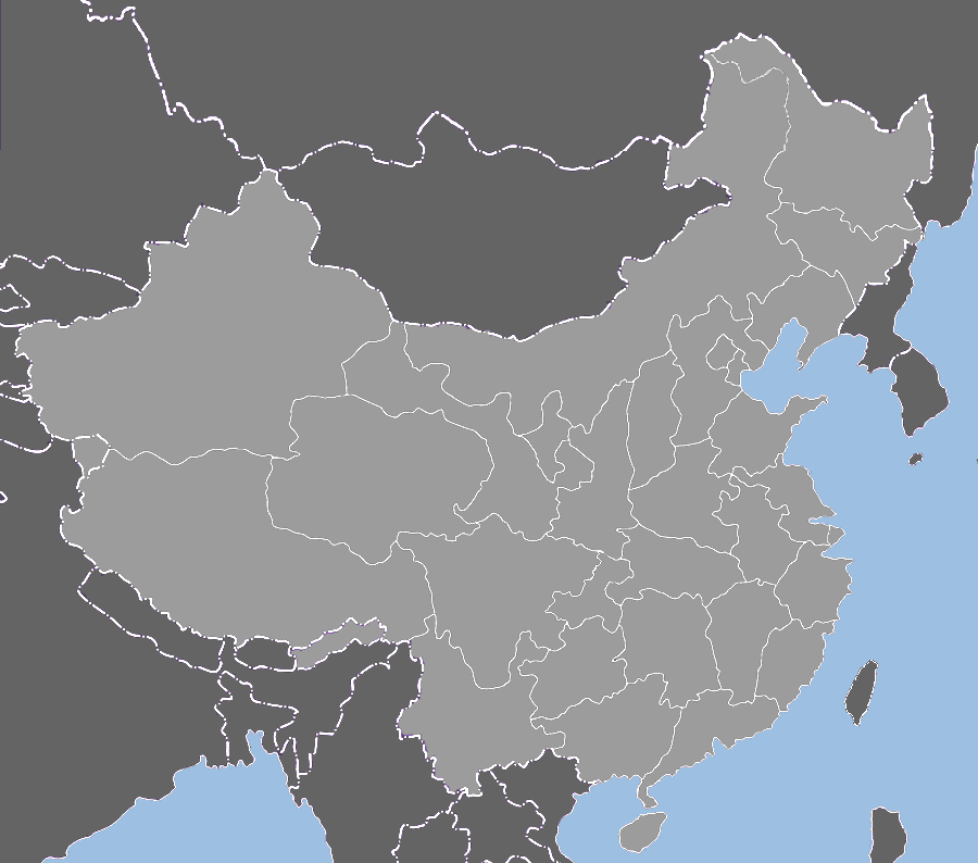 china_provinces_blank_map