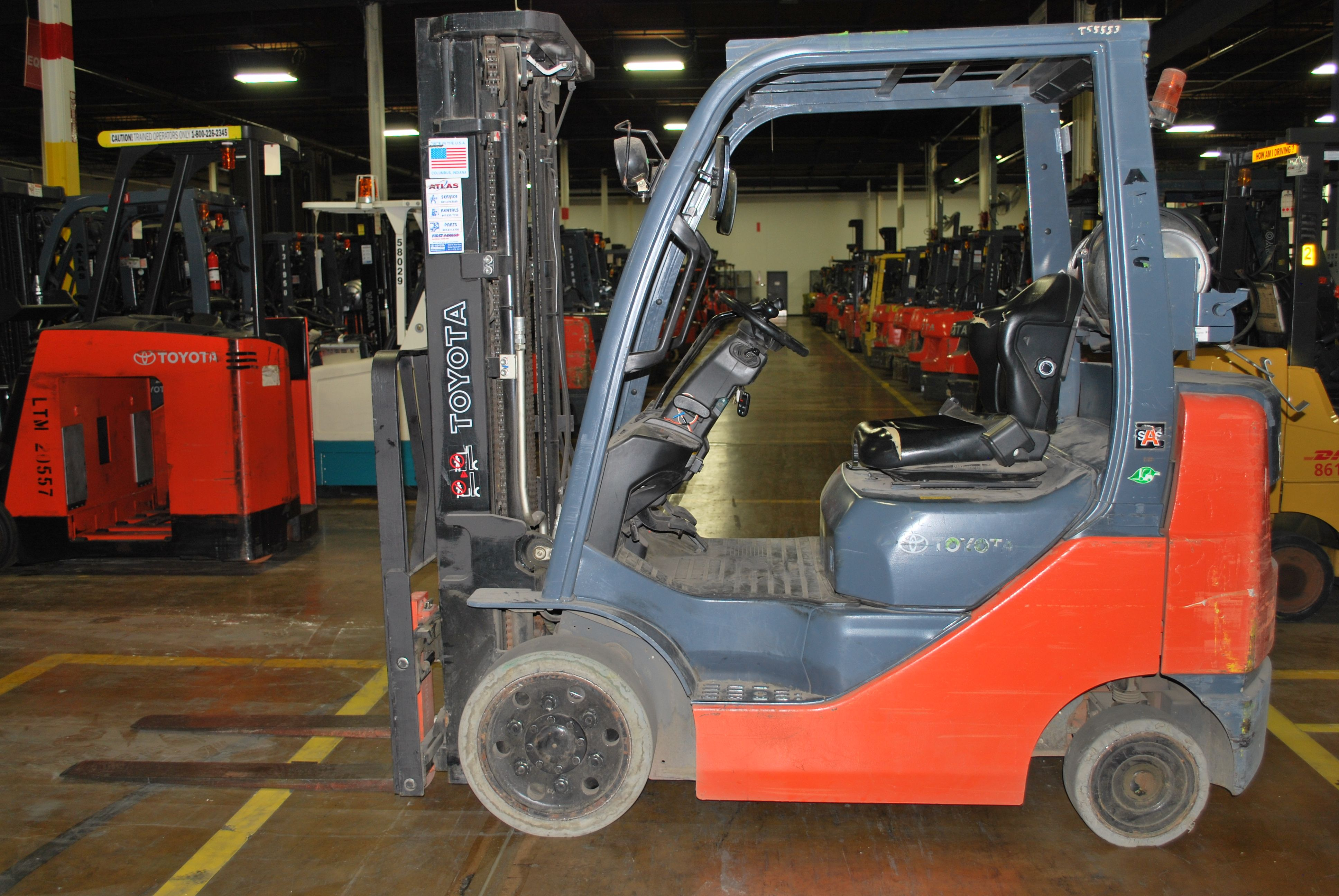 Forklifts For Salerent New And Used Forkliftsatlas Toyota