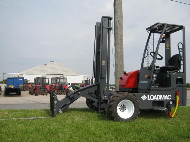 Used Moffetts | Piggy Back Trailer-Truck Mounted Forklifts