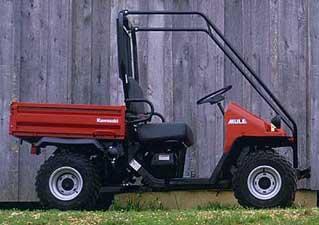 1999 Kawasaki Mule 550