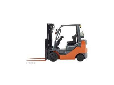 2011, Toyota Industrial Equipment, 8FGCU25, Forklifts / Lift Trucks