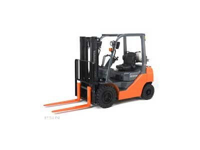 Used, 2011, Toyota Industrial Equipment, 8FGU25, Forklifts / Lift Trucks