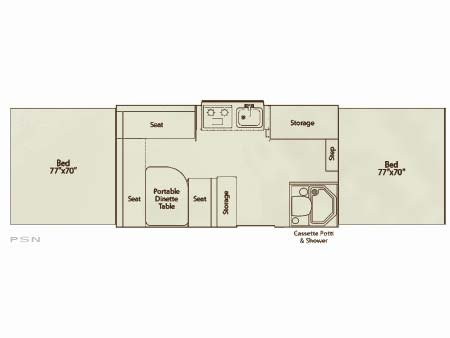 Coleman Fleetwood Pop Up Camper Floor Plan Thefloors Co