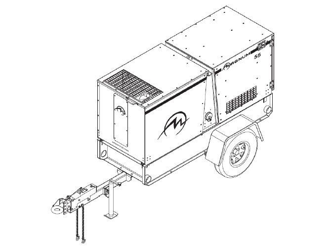 New, Magnum, MMG55FHD, Generators