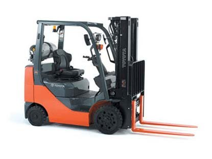 Used, 2012, Toyota Industrial Equipment, 8FGCU30, Forklifts / Lift Trucks