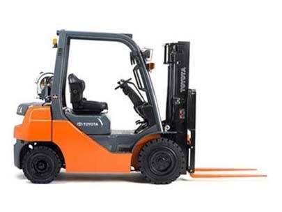 2014, Toyota Industrial Equipment, 8FGU25, Forklifts / Lift Trucks