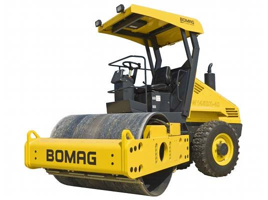 Used, 2014, BOMAG, BW145D-40, Compactors